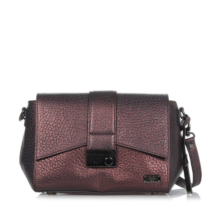 Δερμάτινη Τσάντα Ώμου 19V69 Italia 155011 γυναικα   γυναικεία τσάντα