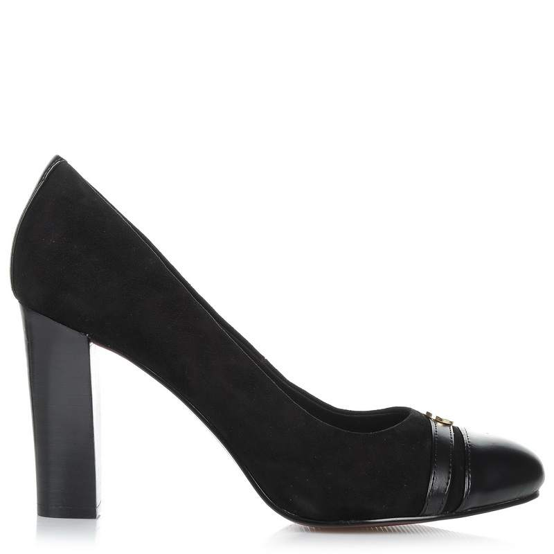 Suede Δερμάτινες Γόβες Tommy Hilfiger 821776 γυναικα   γυναικείο παπούτσι