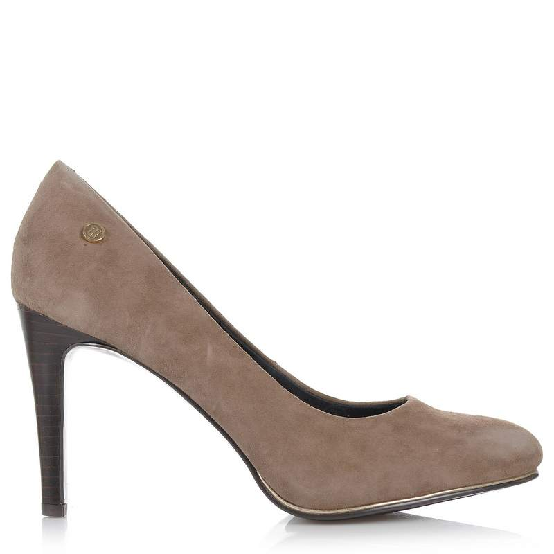 Suede Δερμάτινες Γόβες Tommy Hilfiger 821828 γυναικα   γυναικείο παπούτσι