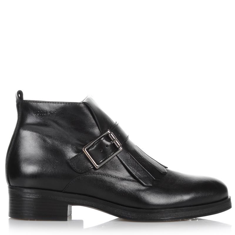 Δερμάτινα Μποτάκια Wonders C-4101 γυναικα   γυναικείο παπούτσι