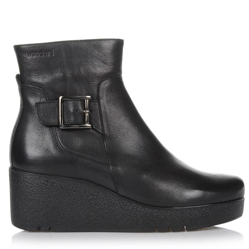 Δερμάτινα Μποτάκια - Πλατφόρμες Wonders H-3208 γυναικα   γυναικείο παπούτσι