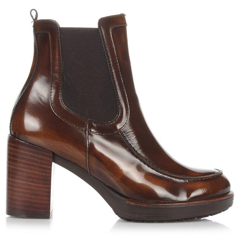 Δερμάτινα Μποτάκια Wonders I-6502 γυναικα   γυναικείο παπούτσι