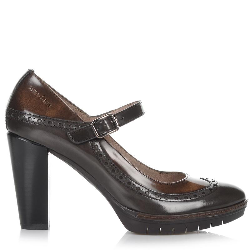 Δερμάτινες Γόβες Wonders M-1720 γυναικα   γυναικείο παπούτσι