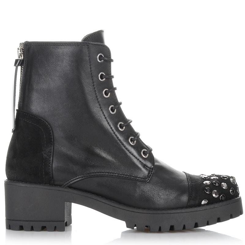 Δερμάτινα Μποτάκια Kanna KI6782 γυναικα   γυναικείο παπούτσι