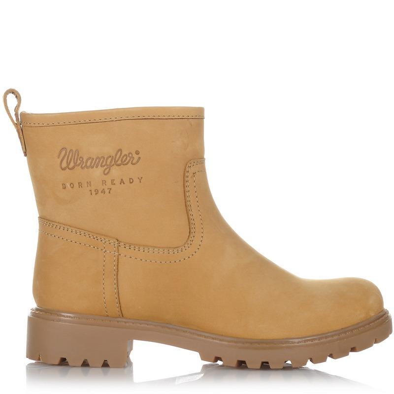 Δερμάτινα Μποτάκια Wrangler Creek Booty Nubuk 162503 γυναικα   γυναικείο παπούτσι