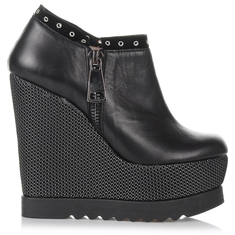 Δερμάτινα Ankle Παπούτσια - Πλατφόρμες Dolce 16045 γυναικα   γυναικείο παπούτσι