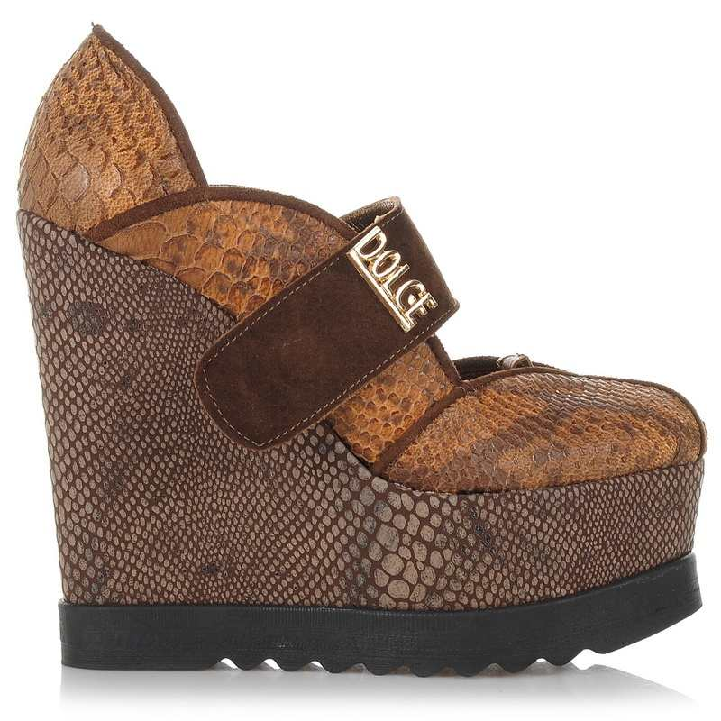 Δερμάτινες Πλατφόρμες Dolce 160457 γυναικα   γυναικείο παπούτσι