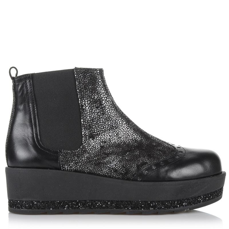 Δερμάτινα Μποτάκια Dolce 164013 γυναικα   γυναικείο παπούτσι