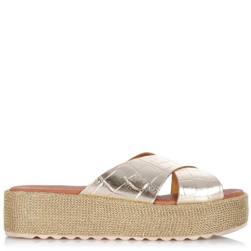Δερμάτινα Σανδάλια Dolce 177305 γυναικα   γυναικείο παπούτσι