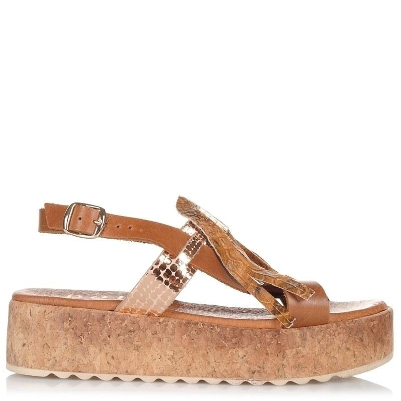 Δερμάτινα Σανδάλια Dolce 177315 γυναικα   γυναικείο παπούτσι