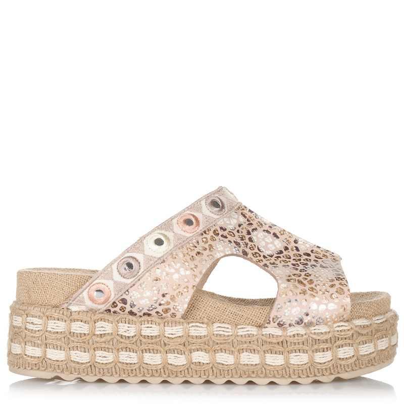 Δερμάτινα Σανδάλια Dolce 773F26 γυναικα   γυναικείο παπούτσι