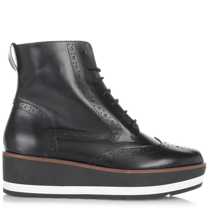 Δερμάτινα Μποτάκια Mourtzi 112004 γυναικα   γυναικείο παπούτσι