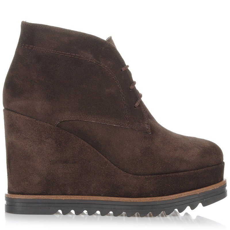 Suede Δερμάτινες Πλατφόρμες Mourtzi 55503 γυναικα   γυναικείο παπούτσι