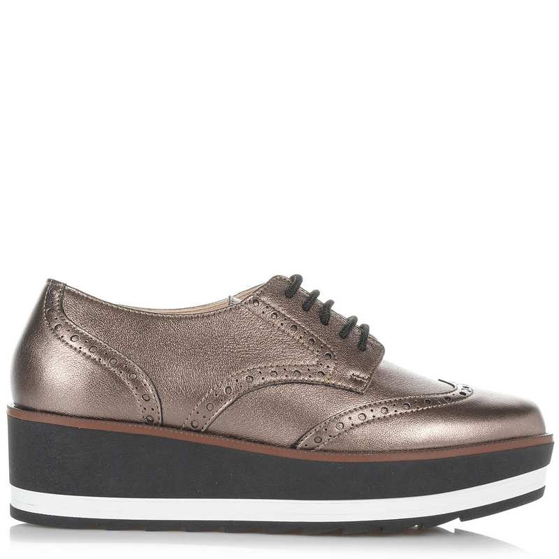 Δερμάτινα Oxford Παπούτσια Mourtzi 112002 γυναικα   γυναικείο παπούτσι