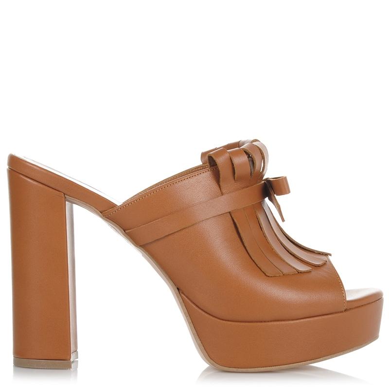 Δερμάτινα Πέδιλα Mules Mourtzi 850F06 γυναικα   γυναικείο παπούτσι