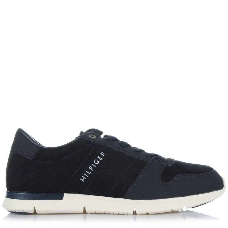Suede Δερμάτινα Sneakers Tommy Hilfiger FM56821684 ανδρας   ανδρικό παπούτσι