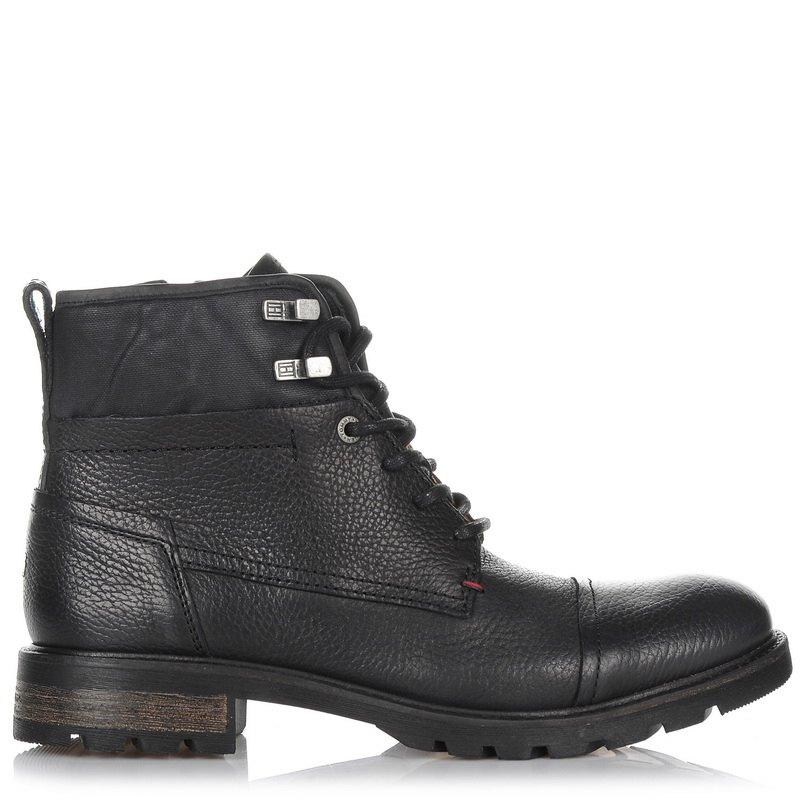 Δερμάτινα Μποτάκια Tommy Hilfiger 821742 ανδρας   ανδρικό παπούτσι