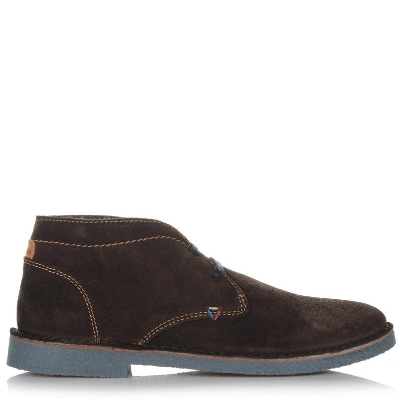 Δερμάτινα Μποτάκια Wrangler Churlish 162052 ανδρας   ανδρικό παπούτσι