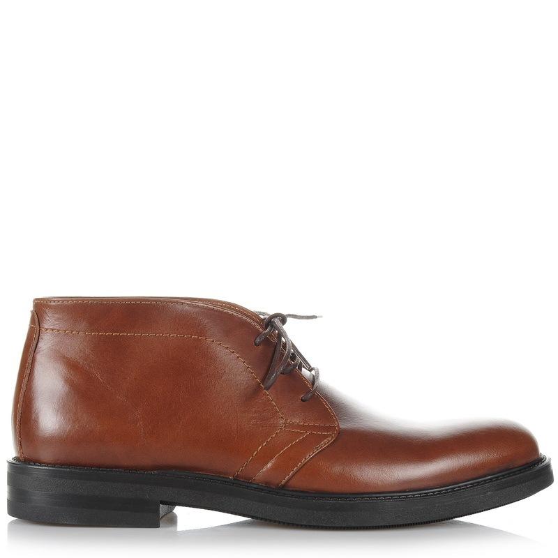 Δερμάτινα Oxford Μποτάκια Kricket SERGIO 3 ανδρας   ανδρικό παπούτσι