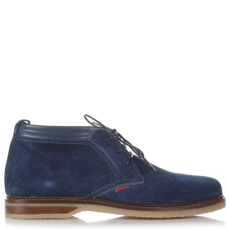 Suede Δερμάτινα Oxford Μποτάκια Kricket STEVEN 2 ανδρας   ανδρικό παπούτσι