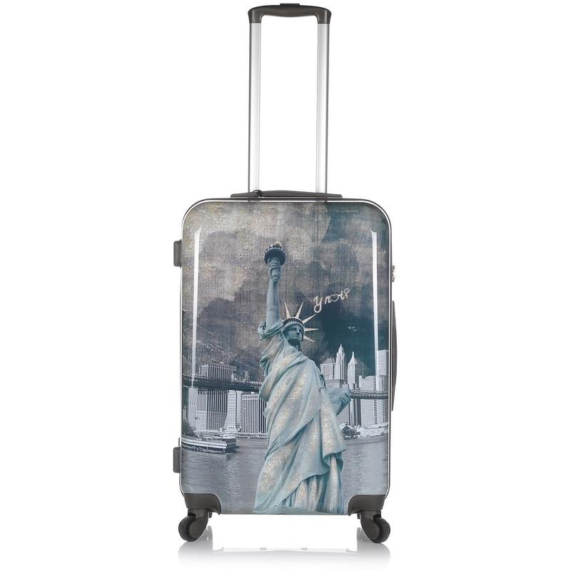 Βαλίτσα Σκληρή Y Not? C-1002 Medium 67cm ειδη ταξιδιου   βαλίτσα hard