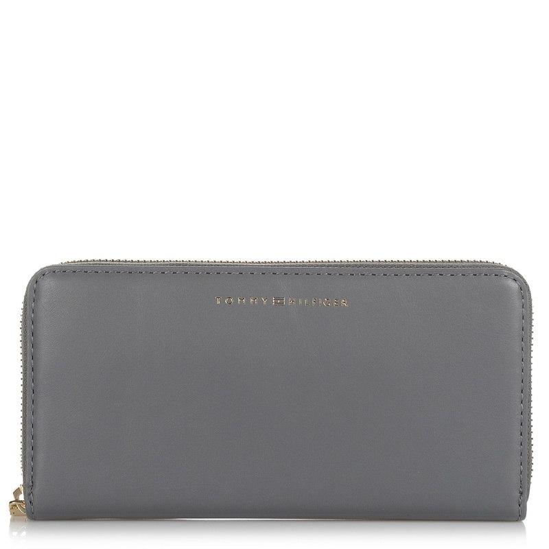Δερμάτινο Πορτοφόλι Κασετίνα Tommy Hilfiger Smooth Leather 7/A Wallet W03027