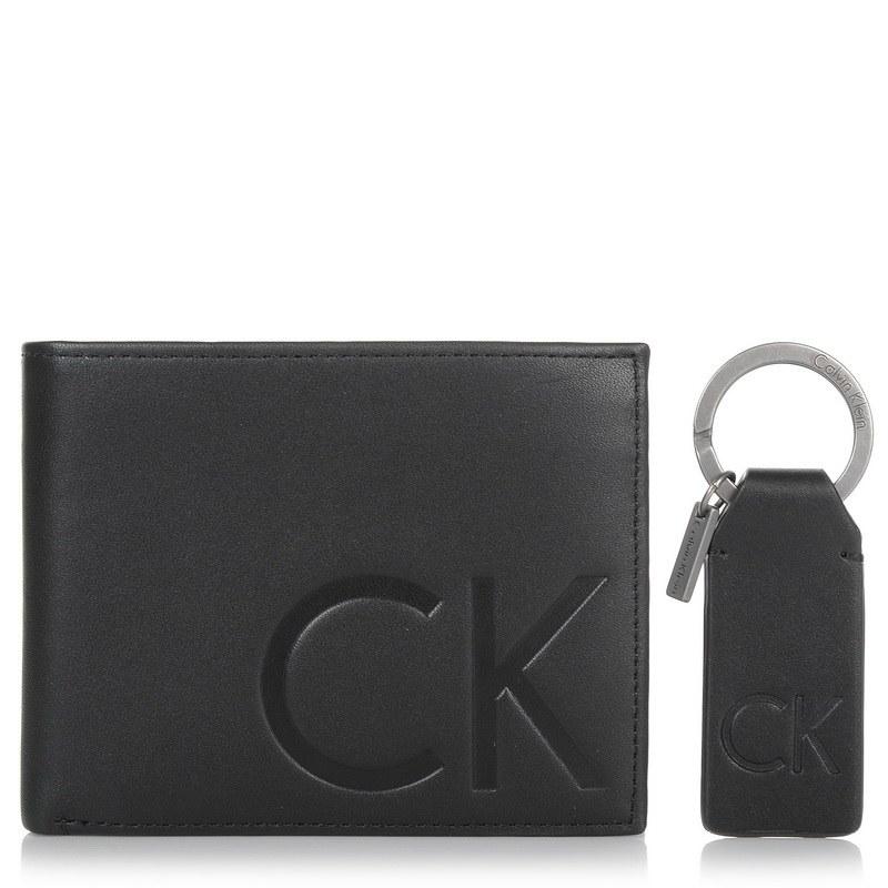 Σετ Δερμάτινο Πορτοφόλι - Μπρελόκ Calvin Klein 502073 ανδρας   ανδρικό πορτοφόλι