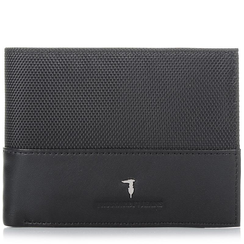 Δερμάτινο Πορτοφόλι Trussardi Jeans 72P008 ανδρας   ανδρικό πορτοφόλι