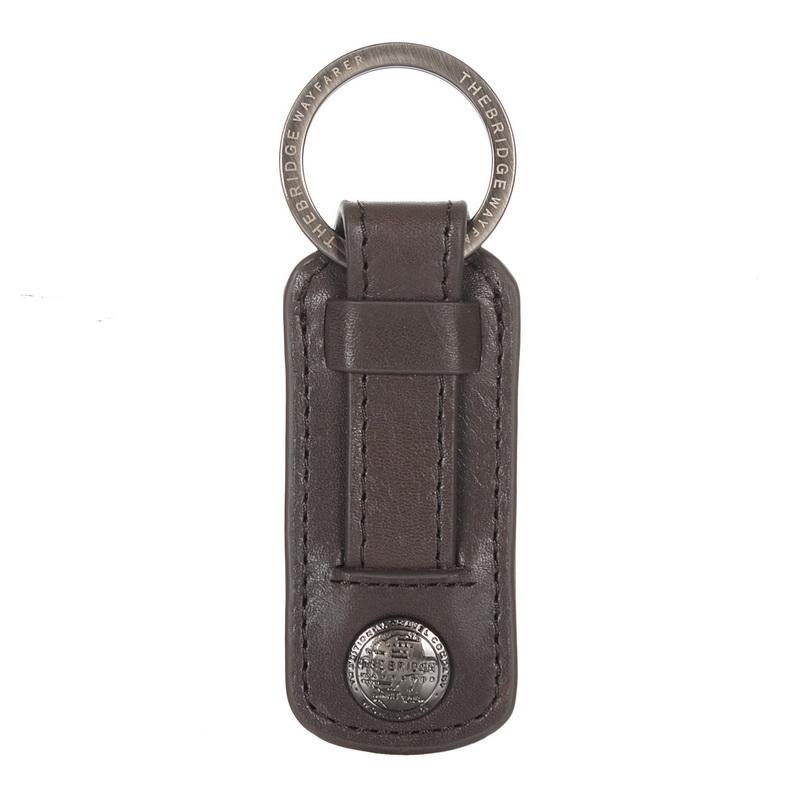 Δερμάτινο Μπρελόκ The Bridge Wayfarer Stitcher Key Ring SCH451 ανδρας   μπρελόκ