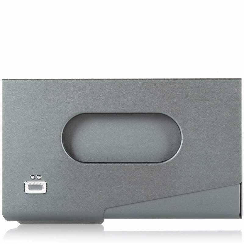 Μεταλλική Καρτοθήκη Ogon Designs Οne Touch RFID Safe ανδρας   καρτοθήκη