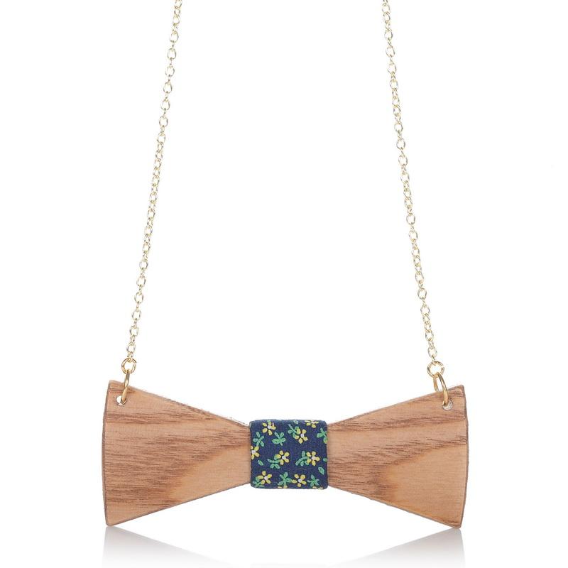 Ξύλινο Κολιέ 27 Wooden Accessories 66 γυναικα   κολιέ