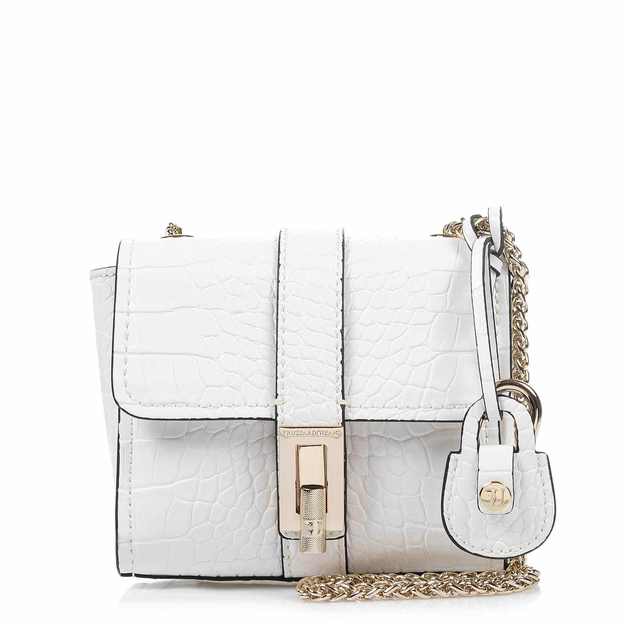 Αμπιγιέ Trussardi Jeans Suzanne Ecoleather Cocco Printed Mini Bag 75B00163 γυναικα   γυναικεία τσάντα