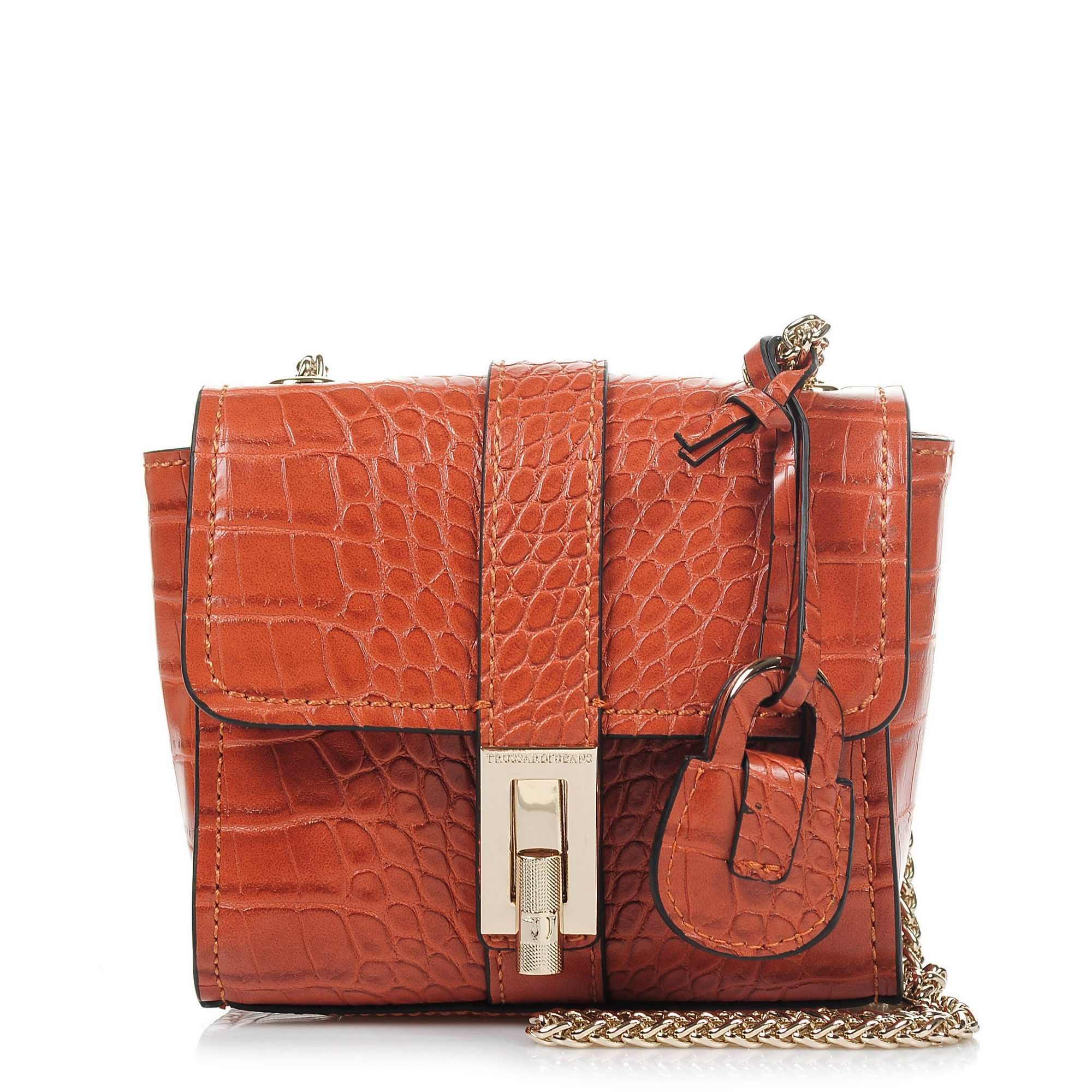 Αμπιγιέ Trussardi Jeans Suzanne Ecoleather Cocco Printed Mini Bag 75B00163