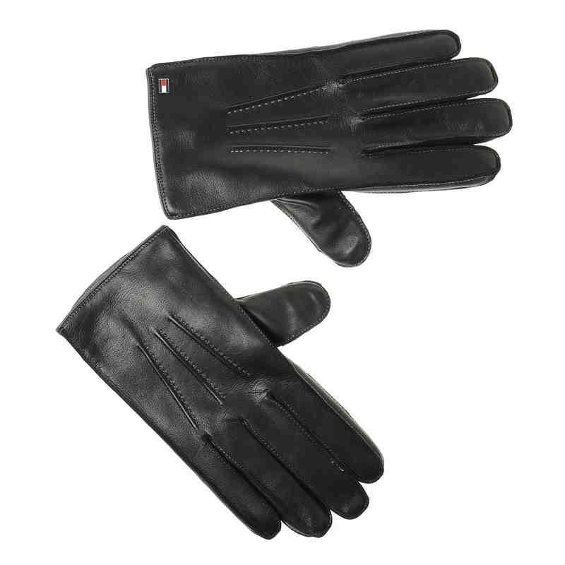 Αντρικά Δερμάτινα Γάντια Tommy Hilfiger Two Tone Gloves AW02511 ανδρας   αντρικό γάντι