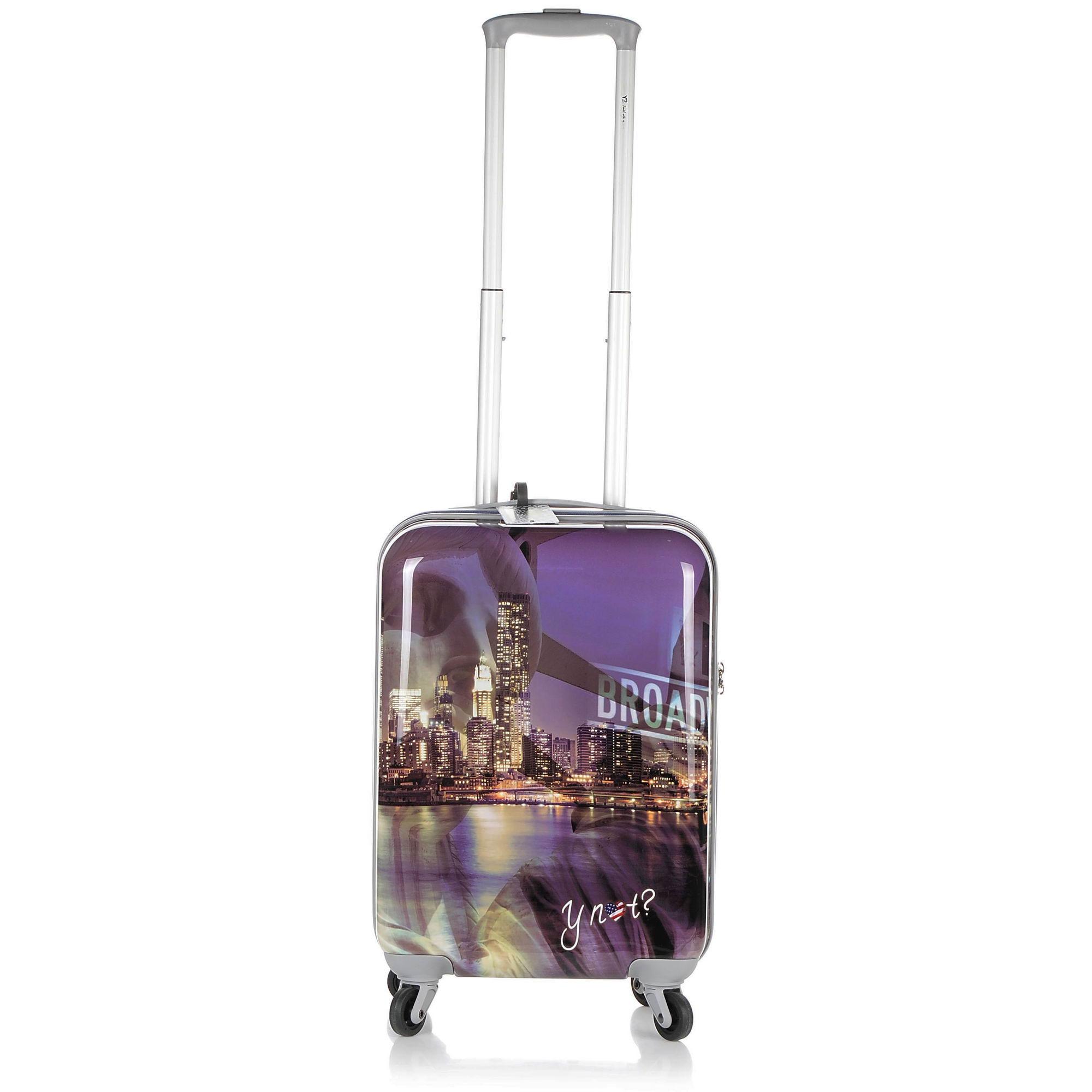 Βαλίτσα Σκληρή Y Not? Ι-1001 Cabin Size 55 cm ειδη ταξιδιου   βαλίτσα hard