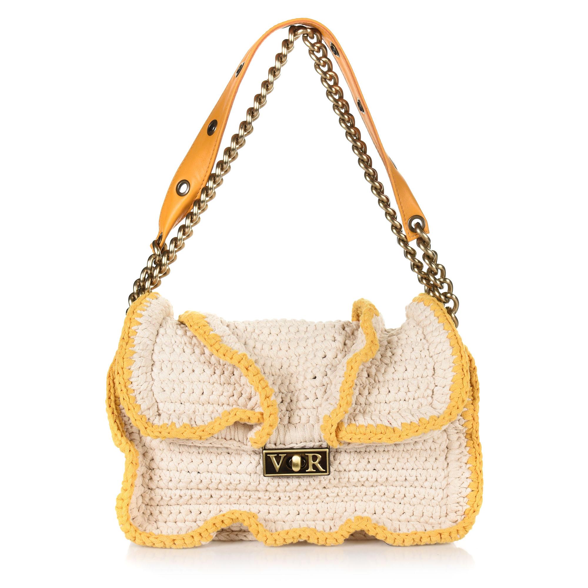 824c1cfc94 Brand Bags Χειροποίητη Πλεκτή Τσάντα Ώμου-Χιαστί V R RC137