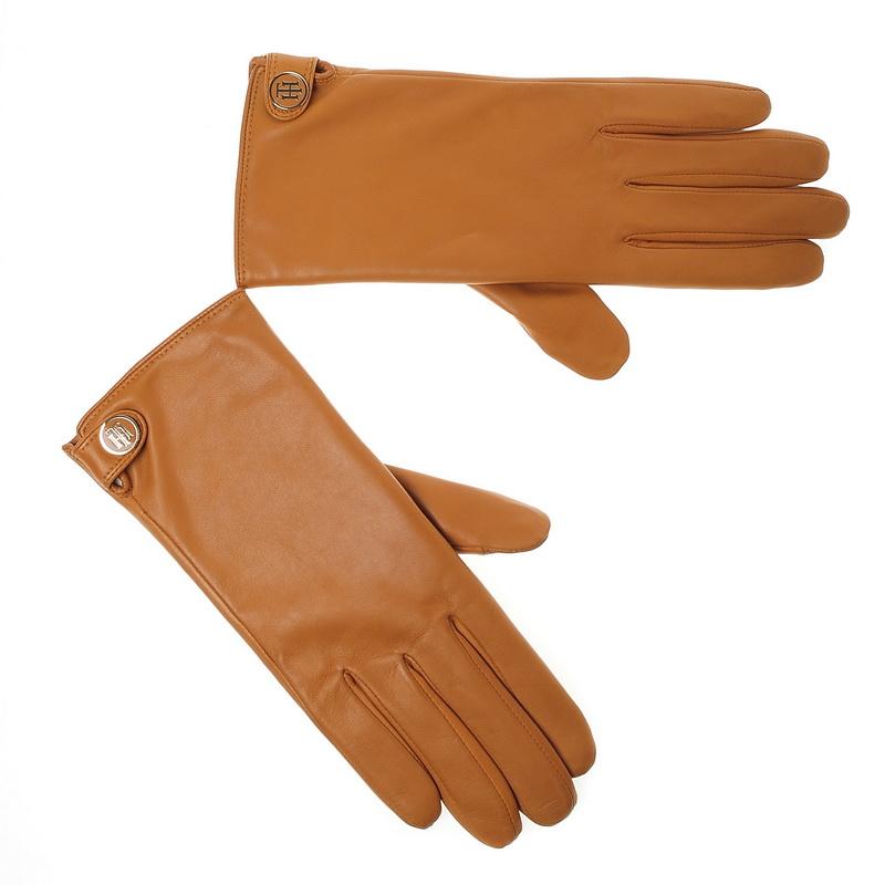 Δερμάτινα Γυναικεία Γάντια Tommy Hilfiger Coin Leather Gloves ΑW04444 γυναικα   γυναικείο γάντι