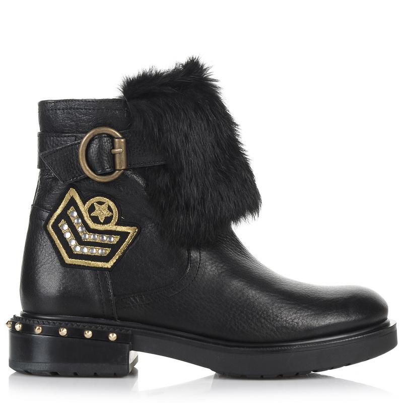 Δερμάτινα Μποτάκια Kanna KI7635 γυναικα   γυναικείο παπούτσι