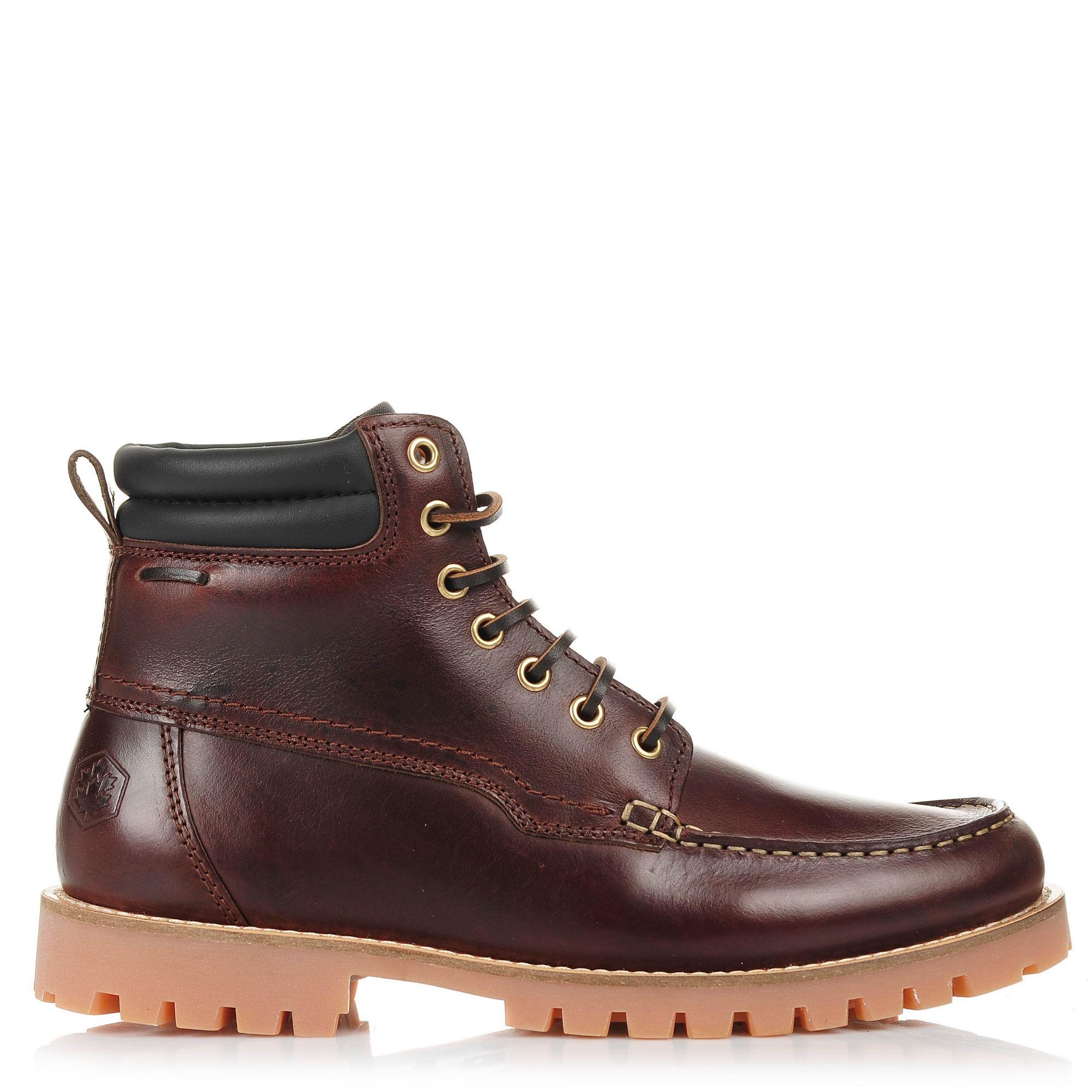 Δερμάτινα Μποτάκια Lumberjack Manitoba SM33401-001 B03 ανδρας   ανδρικό παπούτσι