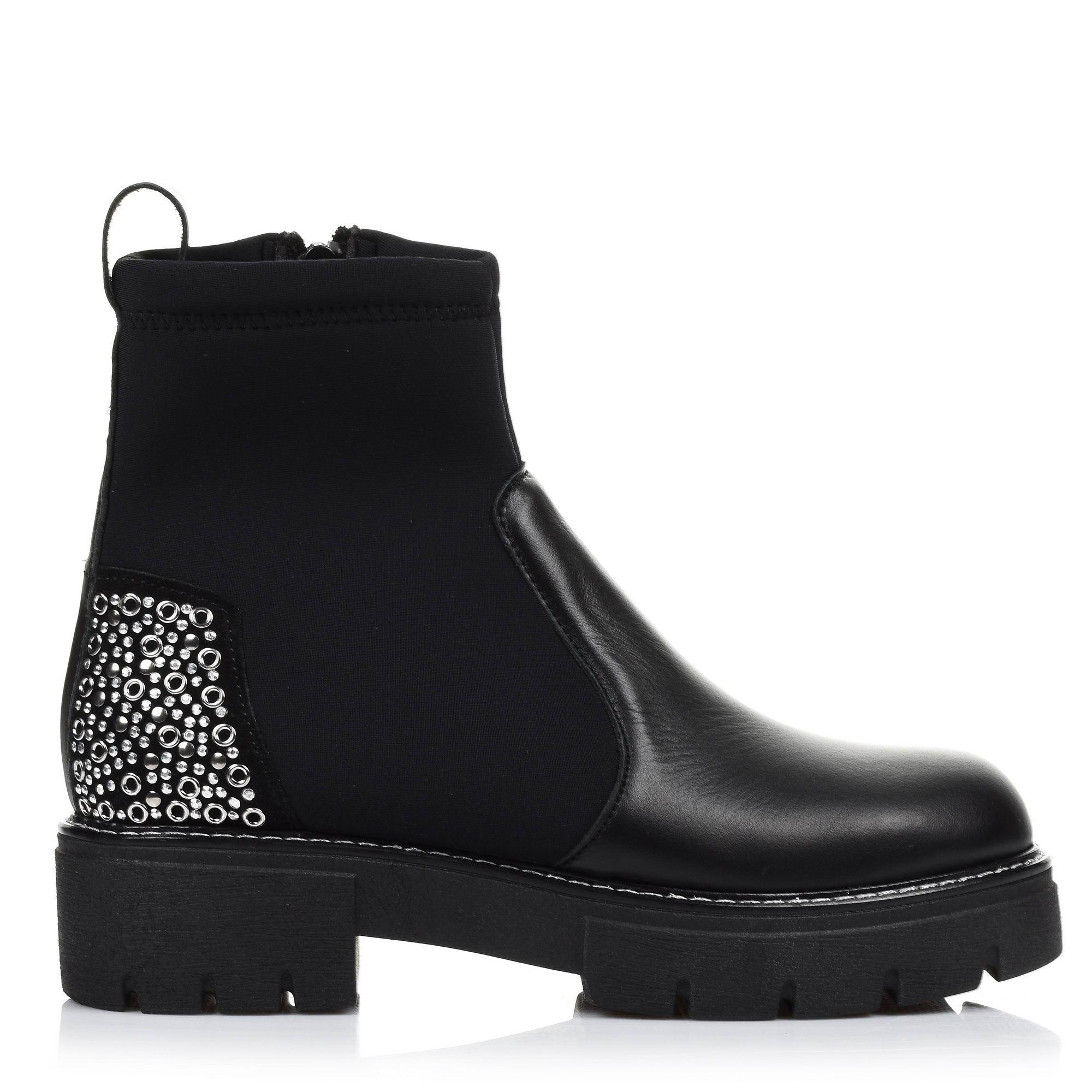 Δερμάτινα Μποτάκια Nitro Fashion SX1155 γυναικα   γυναικείο παπούτσι
