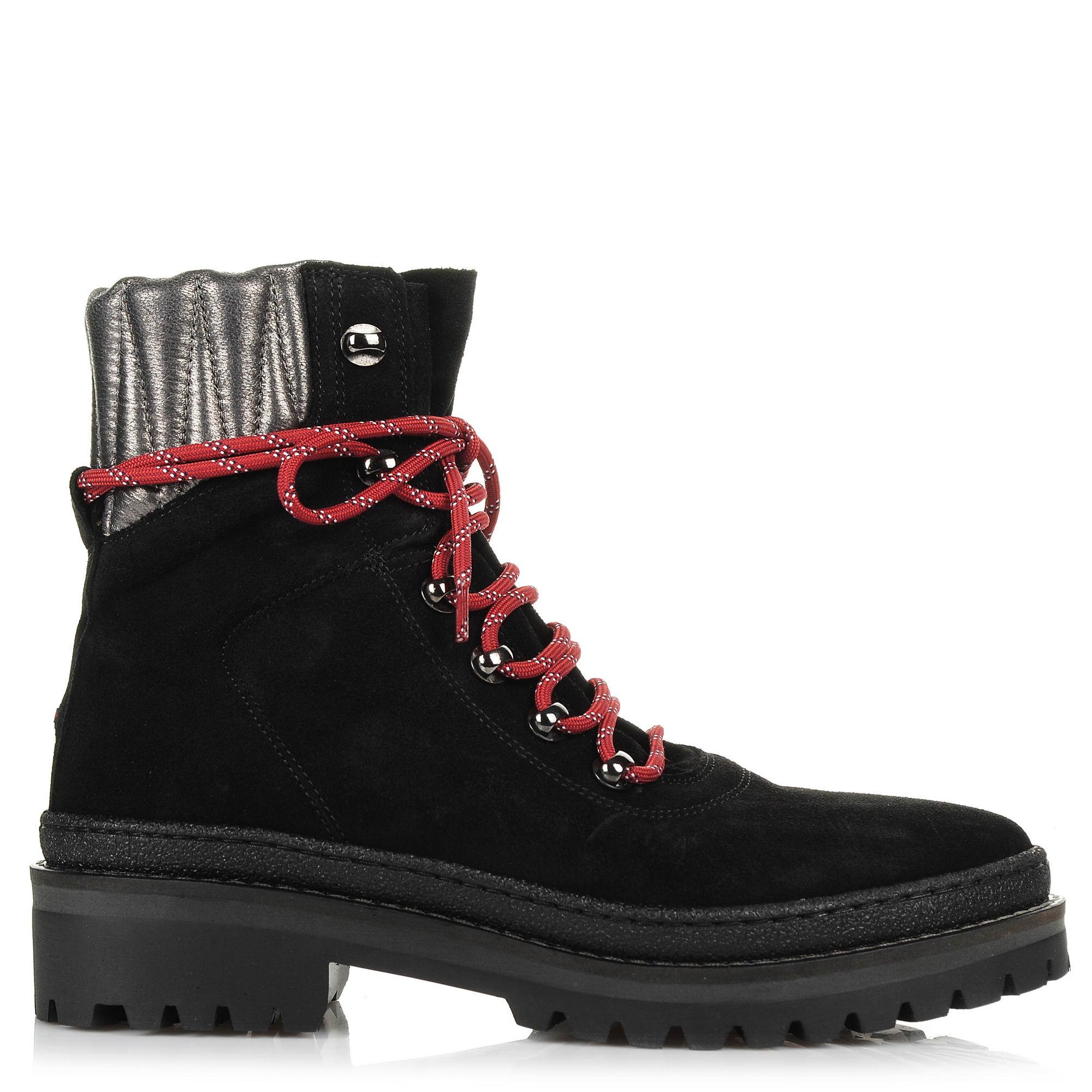 Δερμάτινα Μποτάκια Tommy Hilfiger Modern Hiking Boot S FW0FW03048 γυναικα   γυναικείο παπούτσι