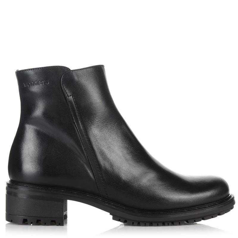 Δερμάτινα Μποτάκια Wonders Ε-5602 γυναικα   γυναικείο παπούτσι
