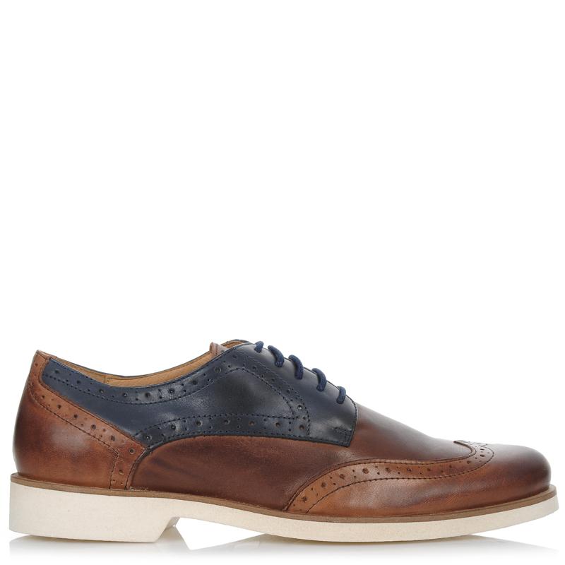 Δερμάτινα Oxford Παπούτσια Nobrand Raid 130161 ανδρας   ανδρικό παπούτσι