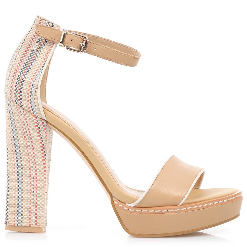 Δερμάτινα Πέδιλα Tommy Hilfiger Jasmine 6C γυναικα   γυναικείο παπούτσι