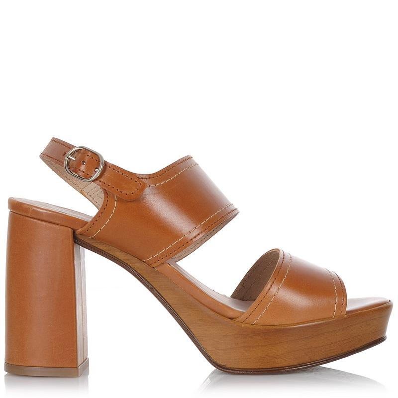 Δερμάτινα Πέδιλα Wonders I-6120 γυναικα   γυναικείο παπούτσι