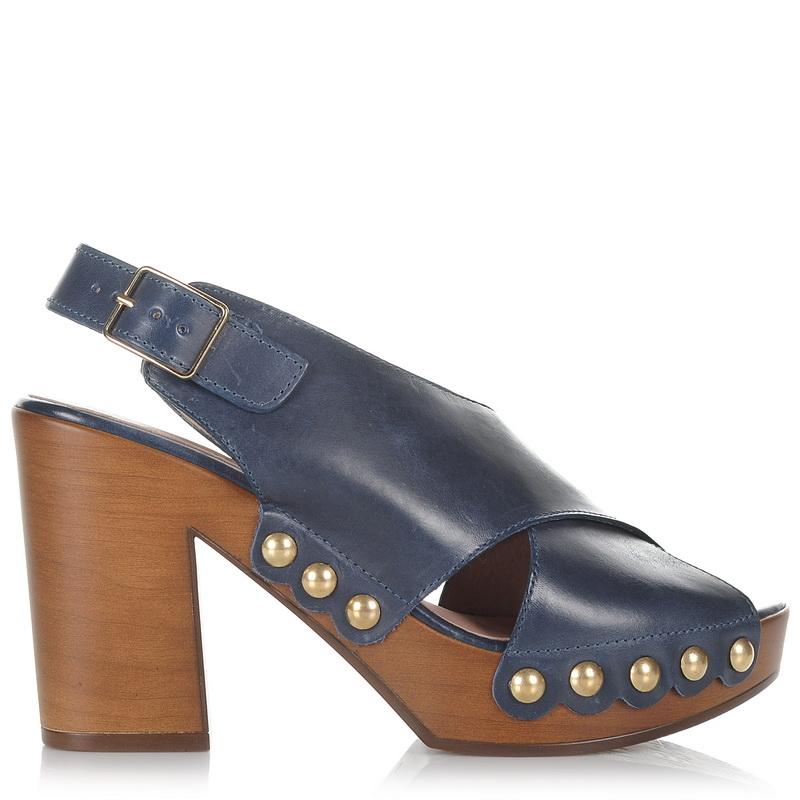 Δερμάτινα Πέδιλα Wonders L-9123 γυναικα   γυναικείο παπούτσι