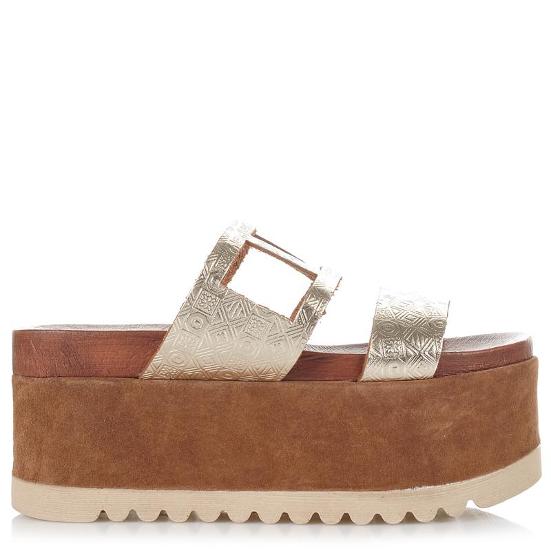 Δερμάτινα Σανδάλια - Πλατφόρμες Dolce 1748F09 γυναικα   γυναικείο παπούτσι