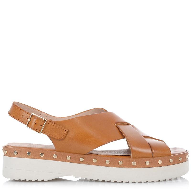 Δερμάτινα Σανδάλια Wonders C-4505 γυναικα   γυναικείο παπούτσι