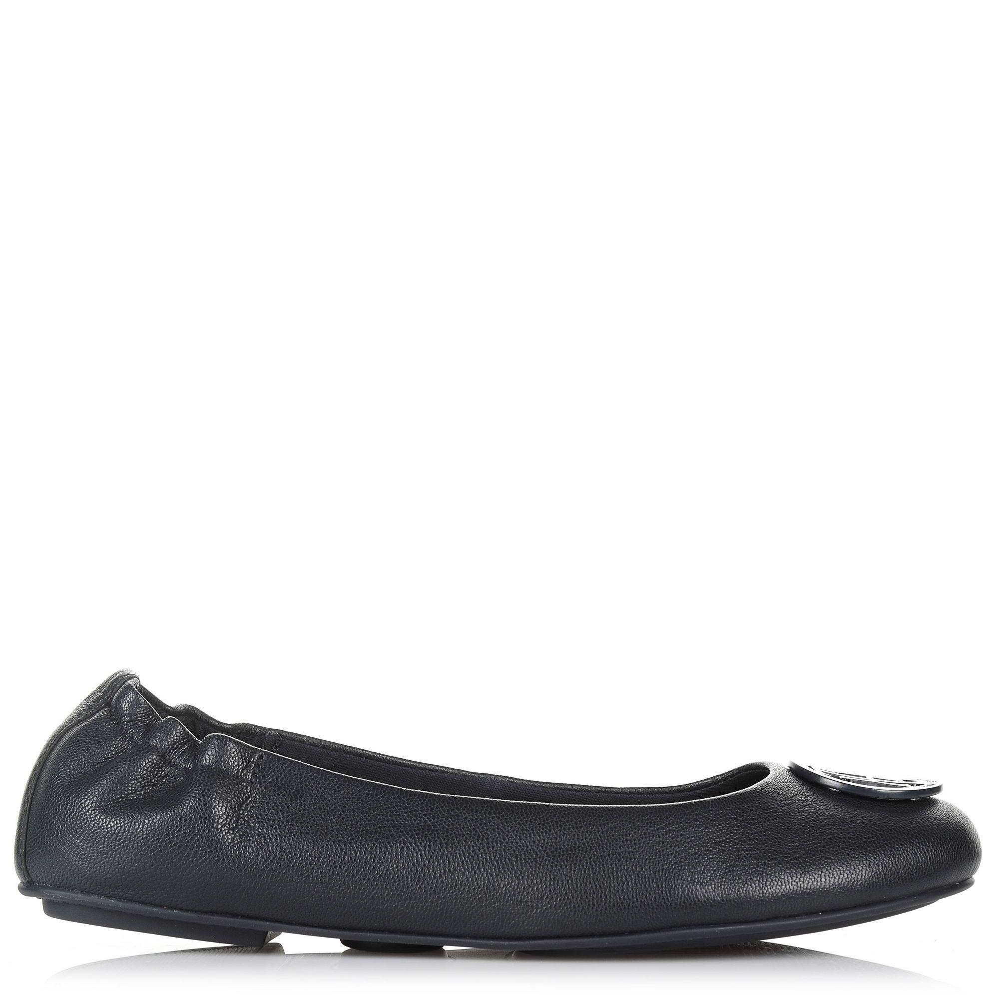 Δερμάτινες Μπαλαρίνες Tommy Hilfiger Flexible Leather Ballerina FW0FW02810 γυναικα   γυναικείο παπούτσι