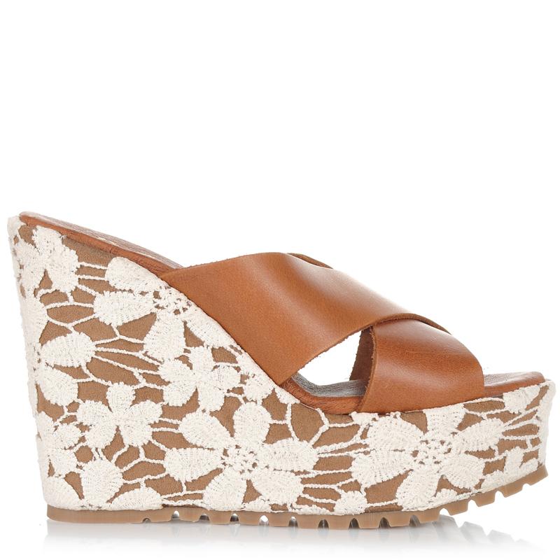 Δερμάτινες Πλατφόρμες Dolce 176303 γυναικα   γυναικείο παπούτσι